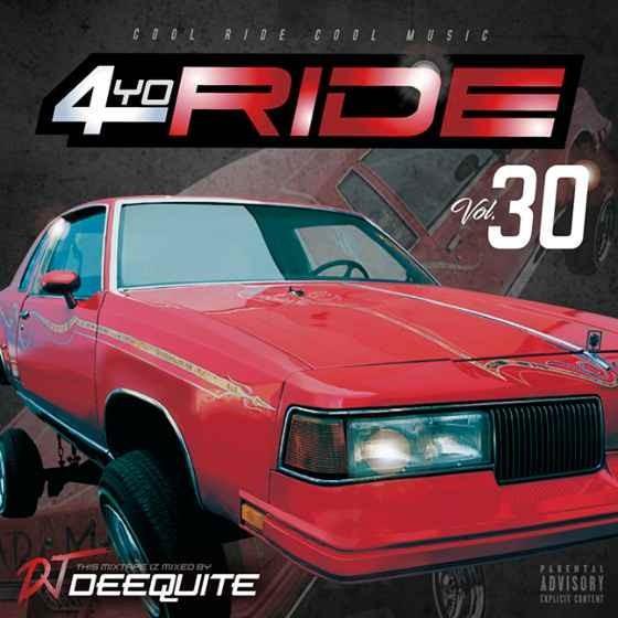 ウエストコースト ヒップホップ ギャングスタラップ シリーズ30作目 洋楽CD MixCD 4Yo Ride Vol.30 / DJ Deequite[M便 2/12]