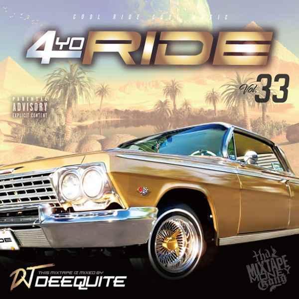 ウエストコースト 人気シリーズ サマーBGM 哀愁メロウからレイドバックスムースまで 洋楽CD MixCD 4Yo Ride 33 / DJ Deequite[M便 2/12]