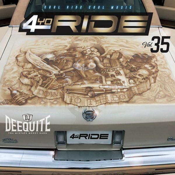 ウエッサイ ヒップホップ 哀愁 メロウ 人気シリーズ 洋楽CD MixCD 4Yo Ride 35 / DJ Deequite[M便 2/12]