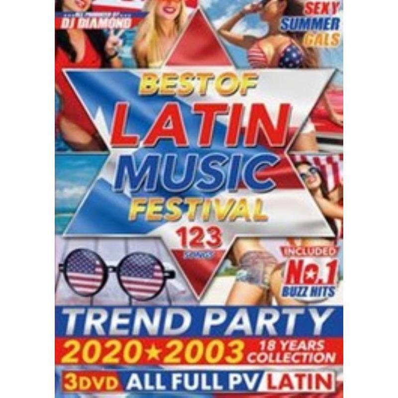 ラテン ベスト PV集 ミュージックビデオ 洋楽DVD MixDVD Best Of Latin Music Festival / DJ Diamond[M便 6/12]|mixcd24