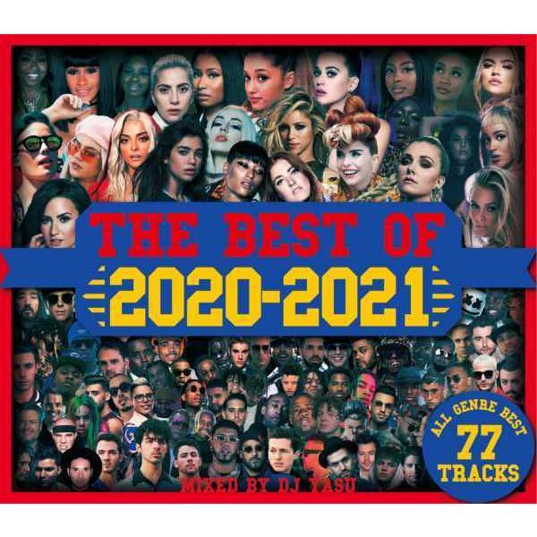 2020 洋楽神曲 レディーガガ デュアリパ アリアナグランデ DJミックス 洋楽CD MixCD The Best Of 2020-2021 -All Genre Best 77Tracks- / DJ Yasu[M便 2/12] mixcd24