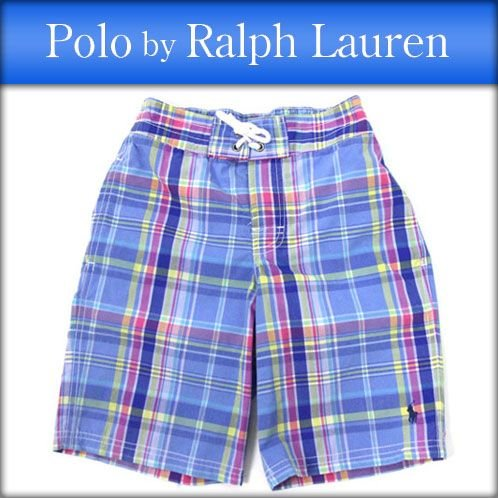 ポロラルフローレンキッズ POLO RALPH LAUREN CHILDREN 正規品 子供服 ボーイズ スイムパンツ 水着 Swim Trunk