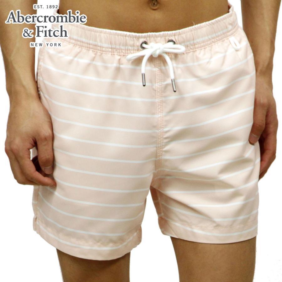 アバクロ 水着 メンズ 正規品 Abercrombie&Fitch スイムパンツ CLASSIC TRUNKS 5-I