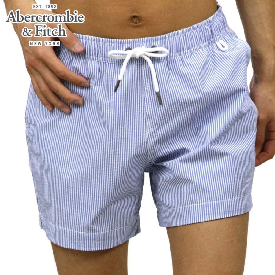 アバクロ 水着 メンズ 正規品 Abercrombie&Fitch スイムパンツ CLASSIC TRUNKS 5-Inseam Short-Length 133-350-0585-214