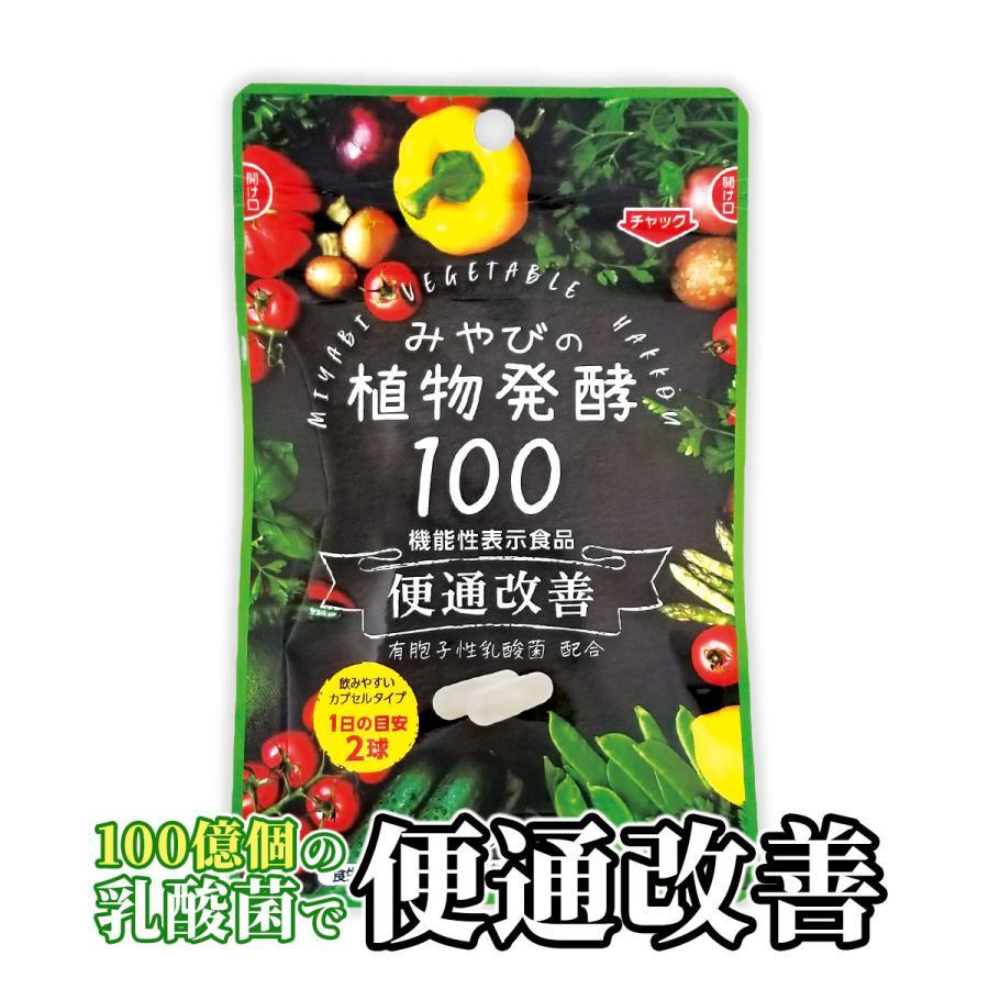 酵素サプリメント みやびの植物酵素サプリ100 メール便なら送料330円 miyabi-store