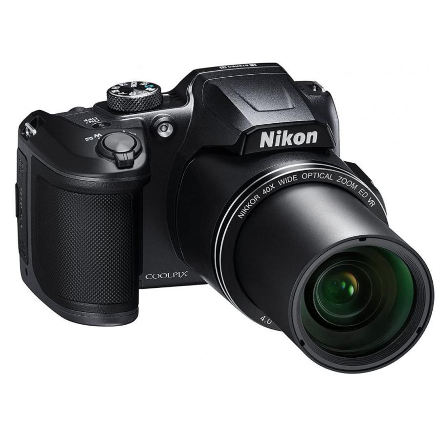 ニコン クールピクス Nikon COOLPIX B500 コンパクトデジタルカメラ 望遠 中古 スマホ転送 チルト式液晶モニター ブラック|miyabicamera