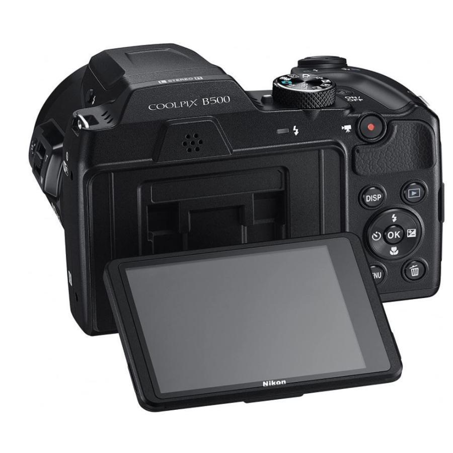 ニコン クールピクス Nikon COOLPIX B500 コンパクトデジタルカメラ 望遠 中古 スマホ転送 チルト式液晶モニター ブラック|miyabicamera|03