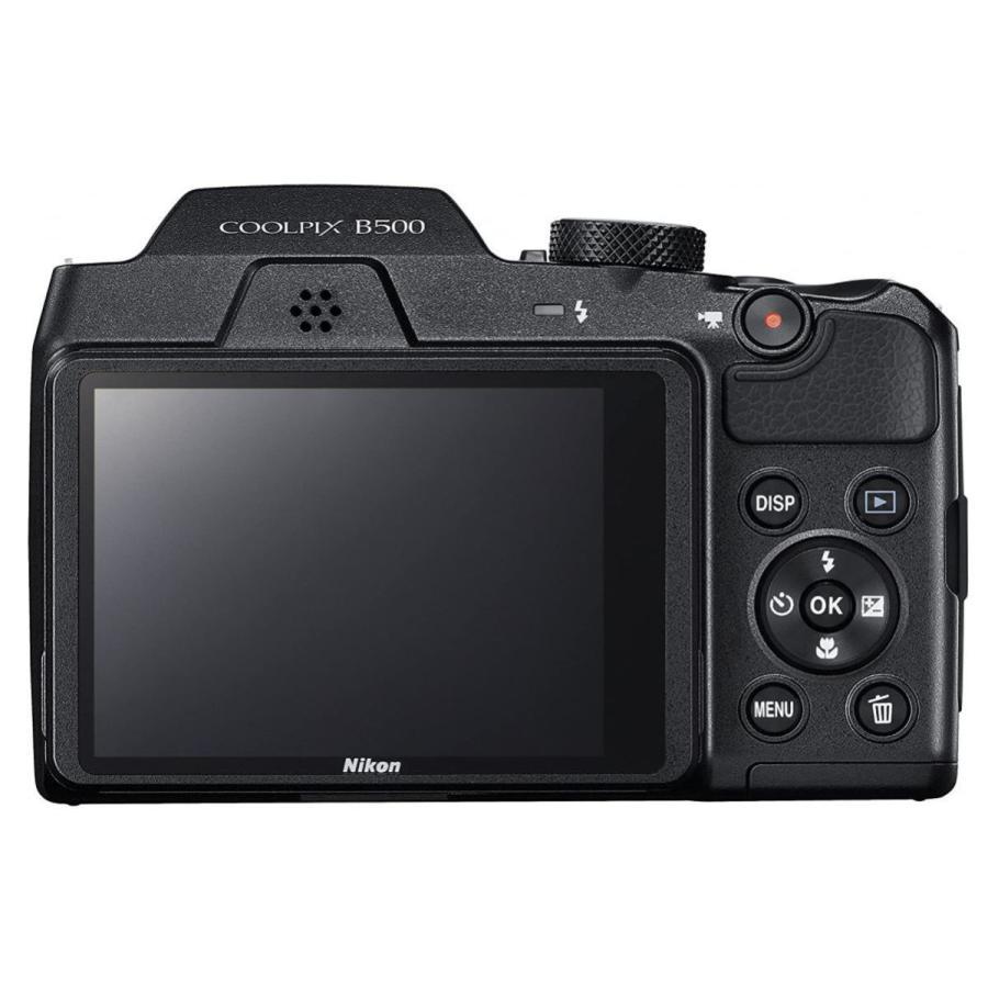 ニコン クールピクス Nikon COOLPIX B500 コンパクトデジタルカメラ 望遠 中古 スマホ転送 チルト式液晶モニター ブラック|miyabicamera|04