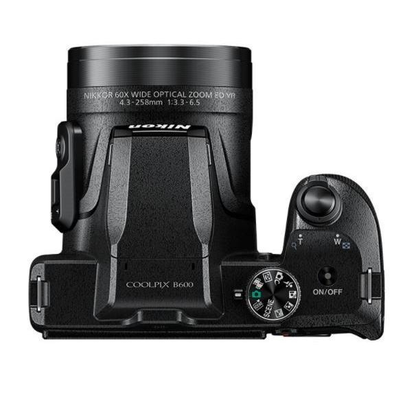 ニコン クールピクス Nikon COOLPIX B600 コンパクトデジタルカメラ 望遠 中古 スマホ転送 ブラック|miyabicamera|03