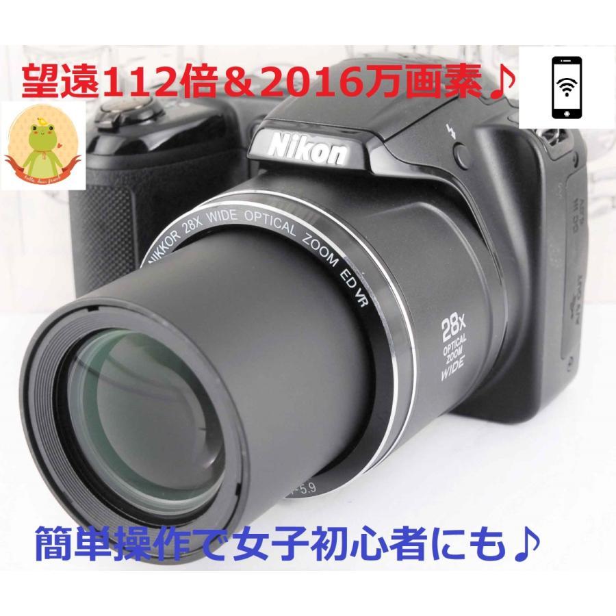 ニコン クールピクス Nikon COOLPIX L340 コンパクトデジタルカメラ 望遠 中古 スマホ転送 miyabicamera