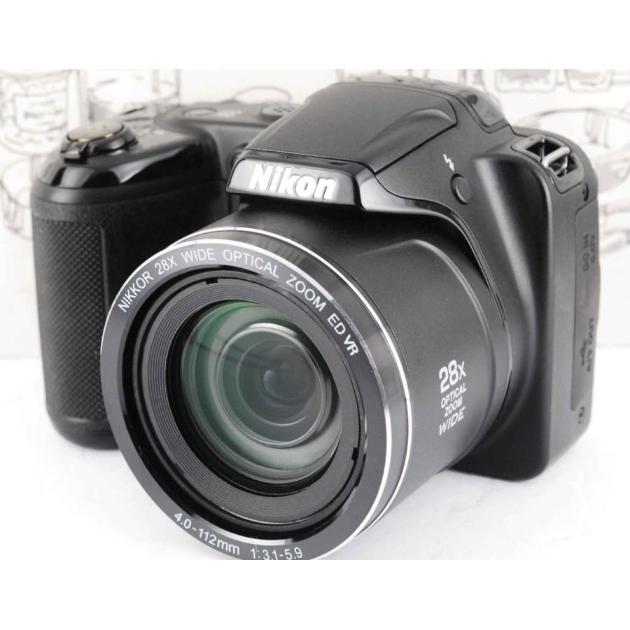 ニコン クールピクス Nikon COOLPIX L340 コンパクトデジタルカメラ 望遠 中古 スマホ転送 miyabicamera 02