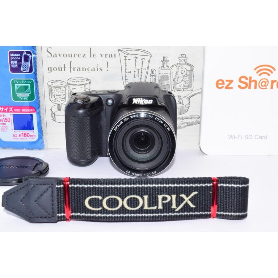 ニコン クールピクス Nikon COOLPIX L340 コンパクトデジタルカメラ 望遠 中古 スマホ転送 miyabicamera 05