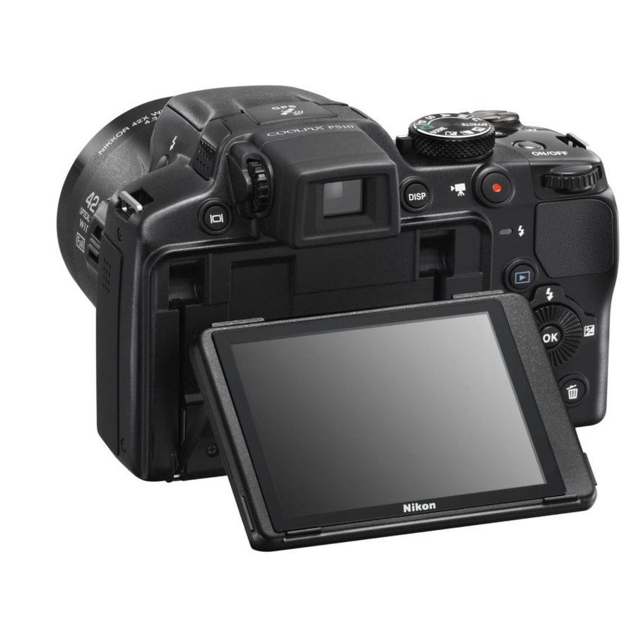 ニコン クールピクス Nikon COOLPIX P510 コンパクトデジタルカメラ 望遠 中古 ブラック miyabicamera 02