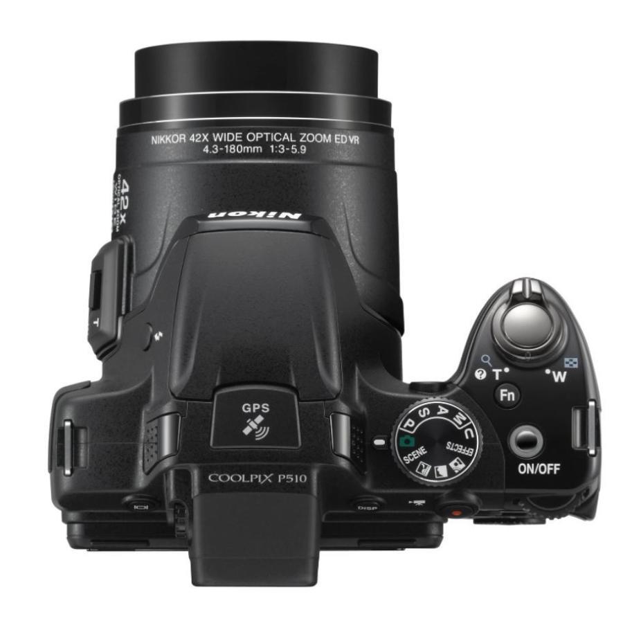 ニコン クールピクス Nikon COOLPIX P510 コンパクトデジタルカメラ 望遠 中古 ブラック miyabicamera 03
