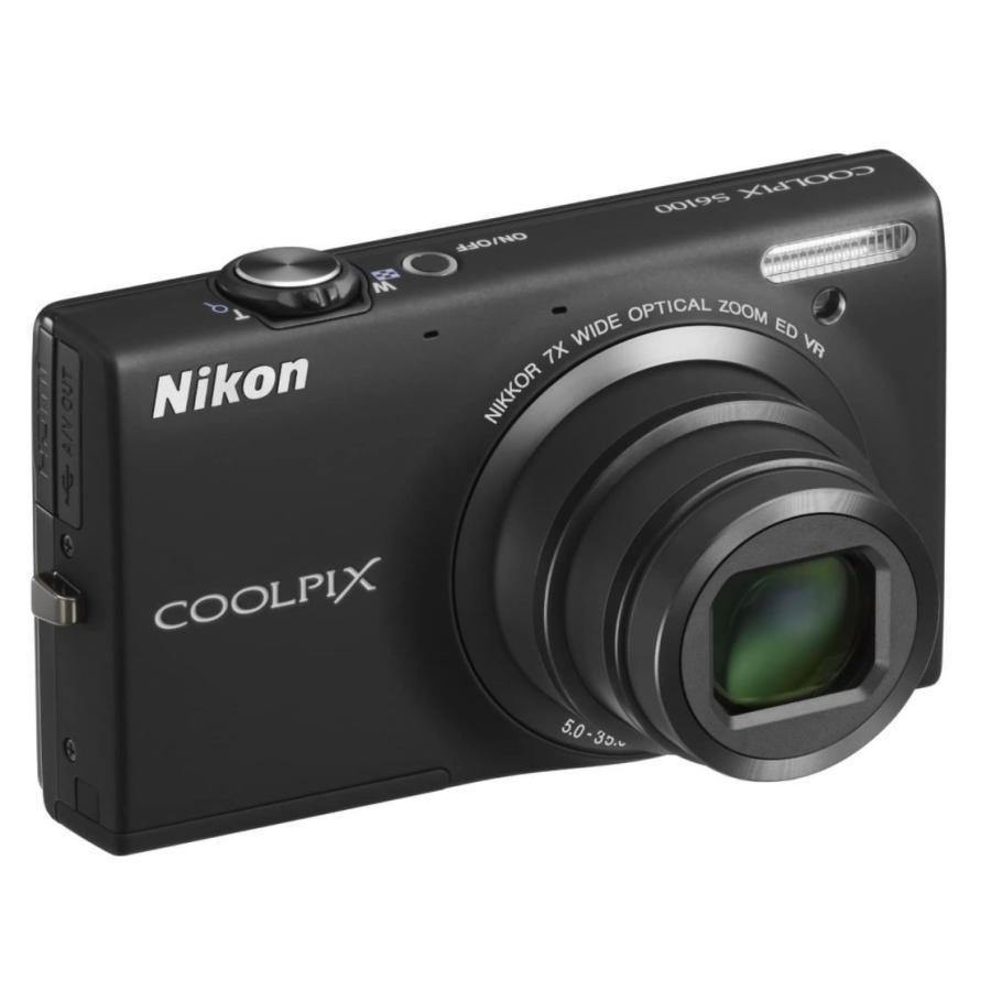 ニコン クールピクス Nikon COOLPIX S6100 コンパクトデジタルカメラ 望遠 中古 ノーブルブラック|miyabicamera