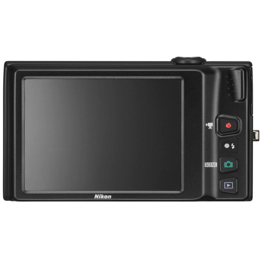 ニコン クールピクス Nikon COOLPIX S6100 コンパクトデジタルカメラ 望遠 中古 ノーブルブラック|miyabicamera|02