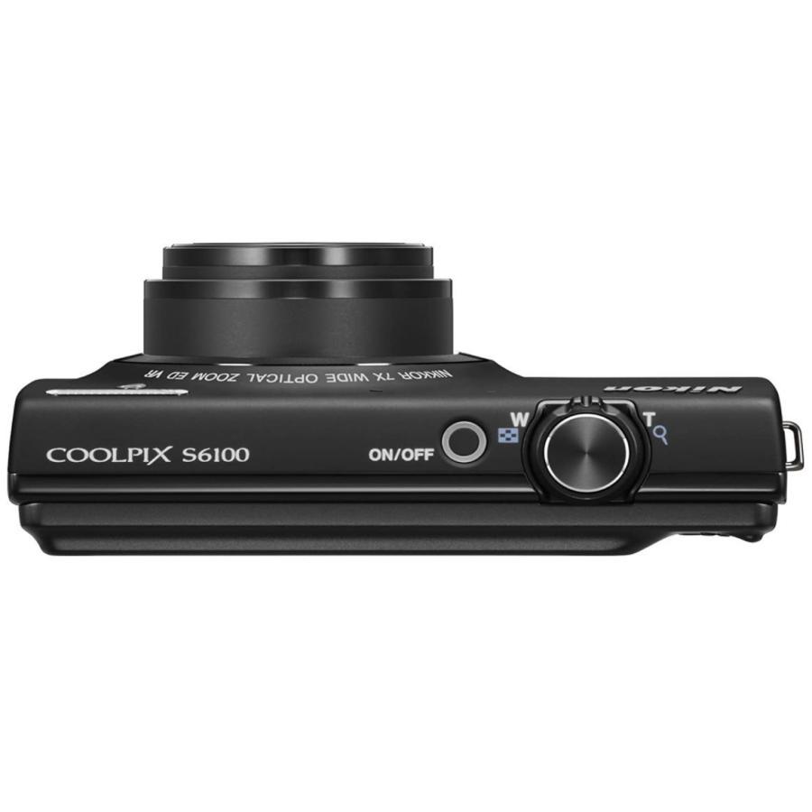 ニコン クールピクス Nikon COOLPIX S6100 コンパクトデジタルカメラ 望遠 中古 ノーブルブラック|miyabicamera|03