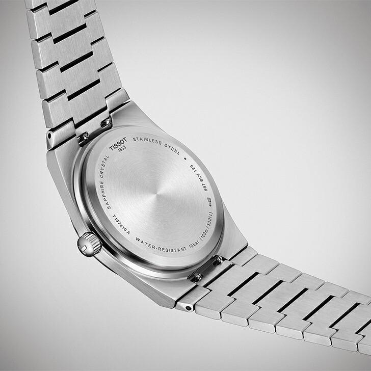 当店限定「10%OFFクーポン&倍倍ストア」┃TISSOT PRX ティソ ピーアールエックス 腕時計 メンズ クオーツ T137.410.11.041.00(18回無金利)|miyagawa-watch|05