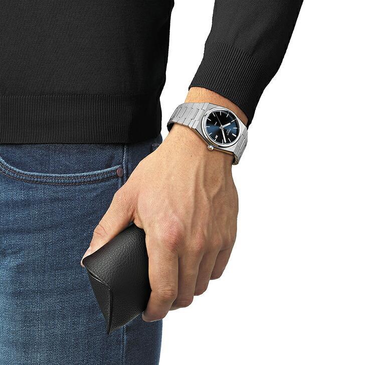 当店限定「10%OFFクーポン&倍倍ストア」┃TISSOT PRX ティソ ピーアールエックス 腕時計 メンズ クオーツ T137.410.11.041.00(18回無金利)|miyagawa-watch|06
