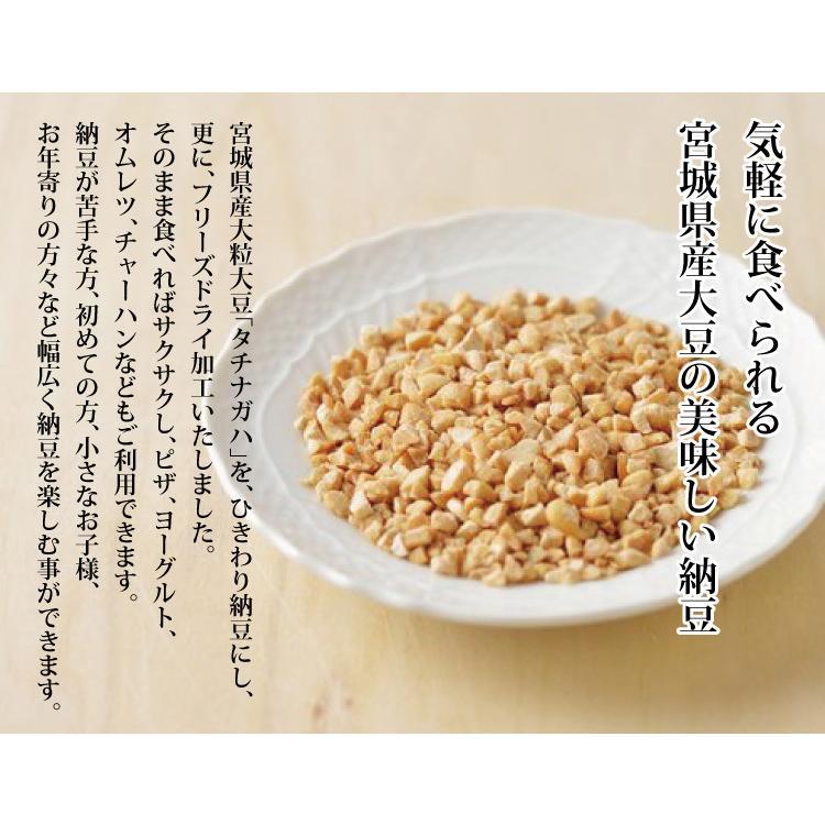 納豆 乾燥 送料無料 65g 5本セット 川口納豆 テレビ|miyagi-chisanchisho|02