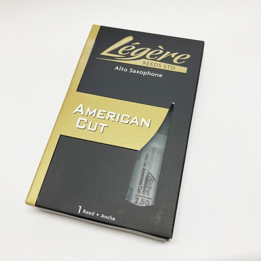 新商品 Legere レジェール 超歓迎された プラスチック アルトサックス リード アメリカンカット ストア