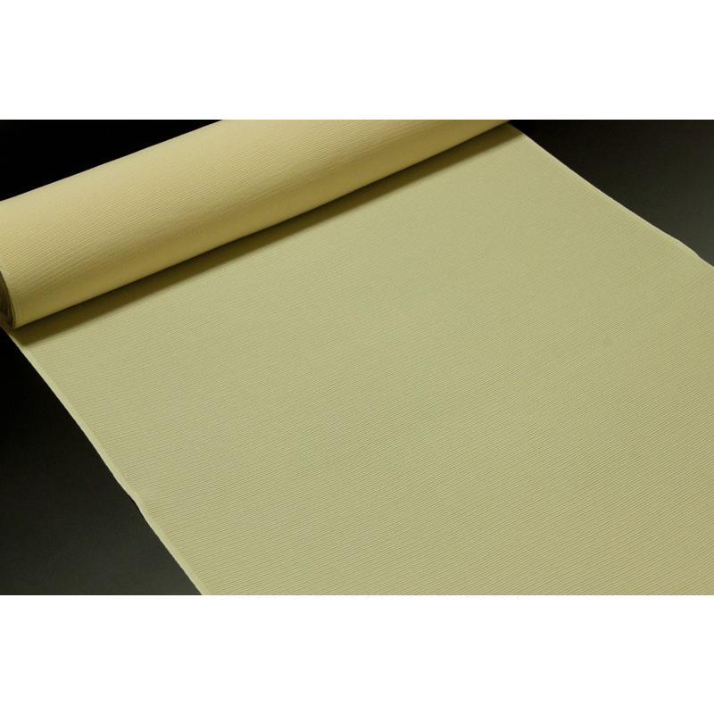 価格は安く 色無地 京丹後産 三本駒絽 クリーム色, ニシセンボクマチ b67746bf