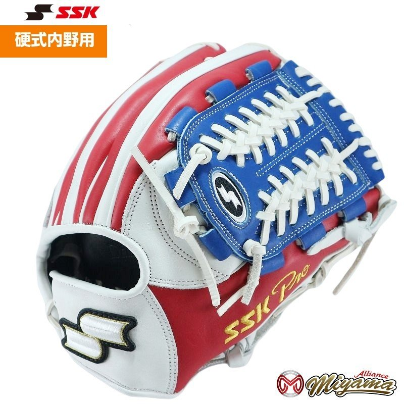 SSK 60 エスエスケイ 内野用 硬式グローブ 内野手用 グラブ 野球 グローブ 内野手 海外