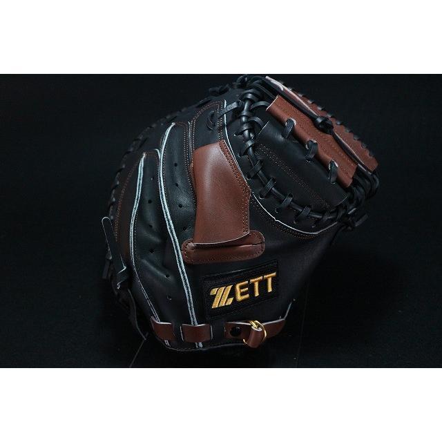 ゼット ZETT 44 捕手用 硬式キャッチャーミット 硬式ミット 硬式グローブ 海外