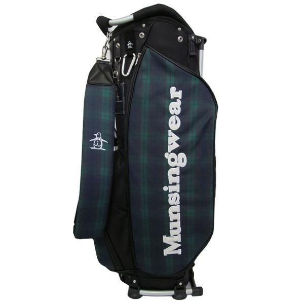 ゴルフスタンドキャディバッグ マンシングウェア MQBMJJ00 NV ネイビー 送料無料
