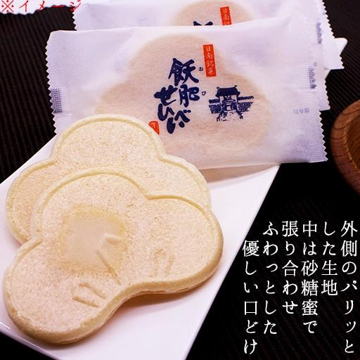 せんべい 宮崎銘菓 飫肥せんべい袋入 8枚 4983770250010