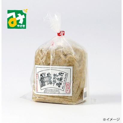 みそ 味噌 地味噌 おびの麦みそ 1kg 冷蔵 安藤商店 倉庫 デポー