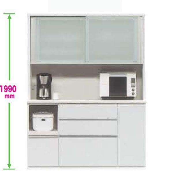 レンジ 食器棚 150cm幅 引き戸 カラー30色対応 受注生産品 国産 開梱設置・ レンジボード レンジ台 キッチン収納 家電収納