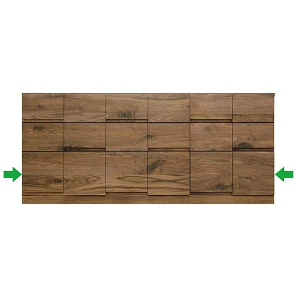 MARUTA MONO 家具 婚礼家具 タンス 環境対応 開梱設置 151-3段チェスト ウォールナット(節入り)