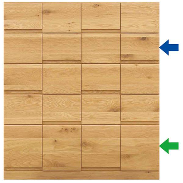 MARUTA MONO 家具 婚礼家具 タンス 環境対応 開梱設置 88-5段チェスト ホワイトオーク(節入り)