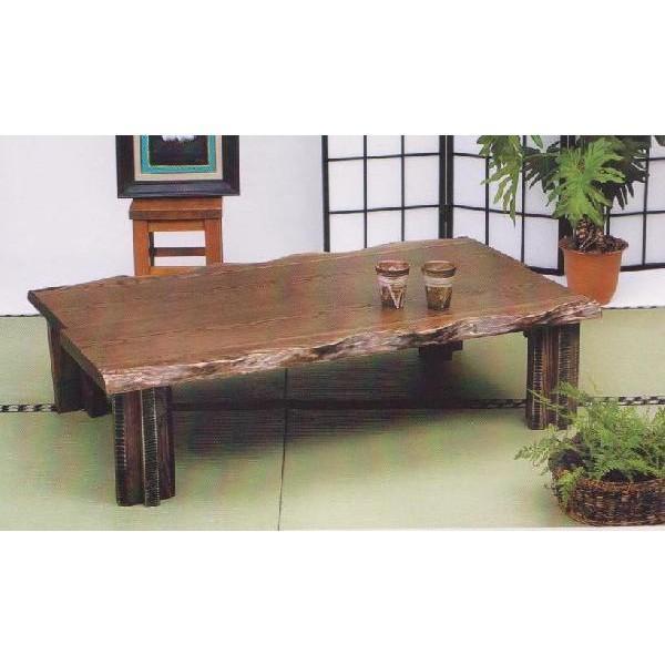 テーブル テーブル 座卓 「かすみ」 135cm幅 折れ脚 国産