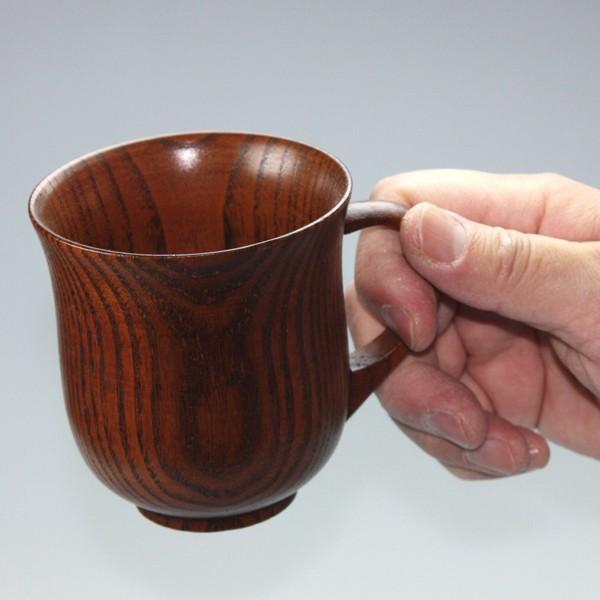 彫刻名入れ 天然木製 マグカップ 名入れ ペア セット 木製 カフェ シンプル プレゼント ギフト 和モダン 割れない 漆塗り 名入れ無料 送料無料|miyoshi-ya|16