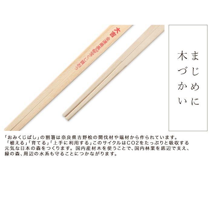 お箸 国産ひのき おみくじばし 25膳入り 割り箸 日本 おもしろ パーティグッズ|miyoshi-ya|04