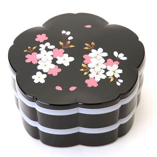 桜型二段オードブル重箱桜花