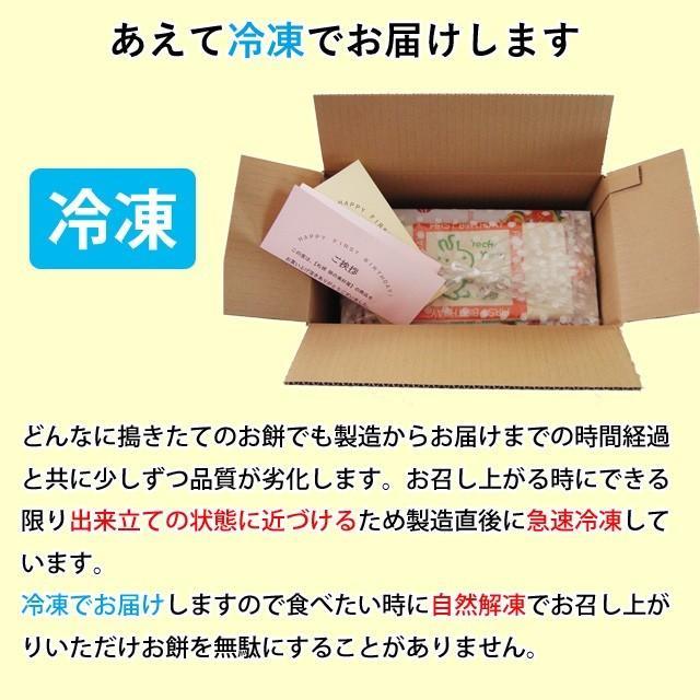 一升餅 一生餅 小分け あんこ 笑顔包装1歳の誕生日のお祝い お 誕生餅 セット 紅白 あん餅 20個入り 一升餅小分け リュック 付き miyoshiya-mochi 06