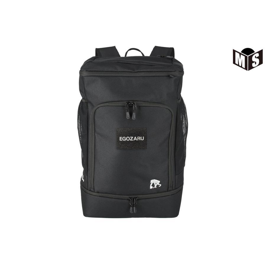 バスケ リュック 豪華な エゴザル 高品質新品 EGOZARU EZAC-21X ブラック ボックスバッグパック40X