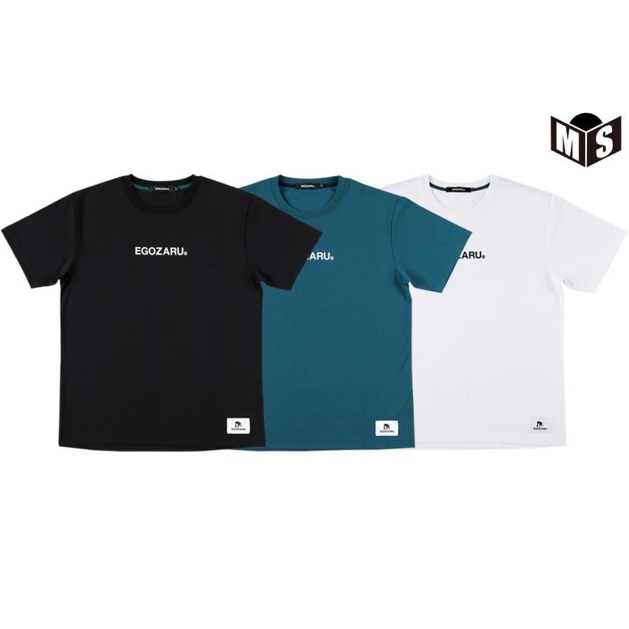 新作からSALEアイテム等お得な商品満載 バスケ tシャツ 3色展開 エゴザル 新入荷 流行 Tシャツ LOGOTYPE EZST-2015 EGOZARU
