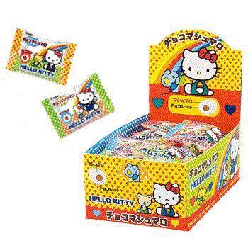 エイワ 激安卸販売新品 ハローキティ マート チョコマシュマロ 30入り1BOX