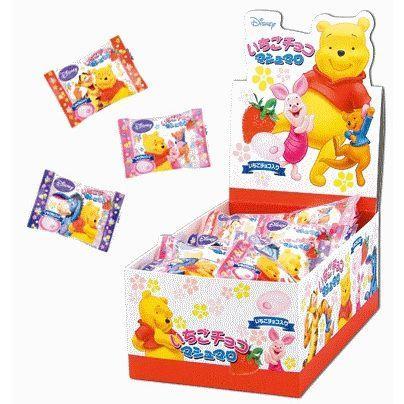 エイワ くまのプーさん 30入り1BOX イチゴチョコマシュマロ 今ダケ送料無料 ファクトリーアウトレット