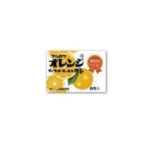 マルカワ オレンジマーブルガム まとめ買い特価 訳あり商品 フーセンガム 20円×33個プラス当たり分入り1BOX