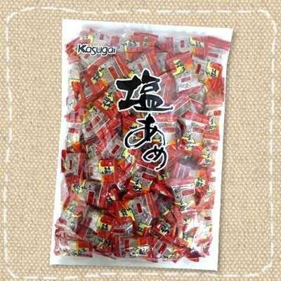 大人気 1キロ入り 塩あめ 春日井製菓 最安値 熱中症対策にも 大量1kg塩飴 約150個前後入