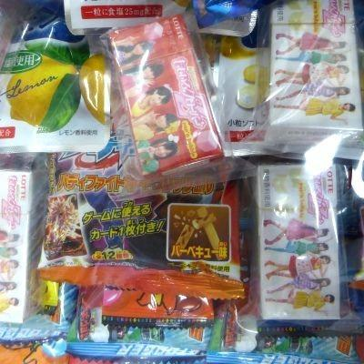 お祭り・イベント用 お菓子のくじ引き お菓子台紙当て60付|mizota|03