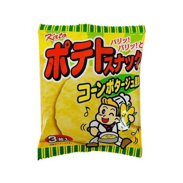 ポテトスナック 大人気! コーンポタージュ風味 いよいよ人気ブランド 20袋入1BOX 東豊製菓 かとう製菓 ポテトフライ類似品