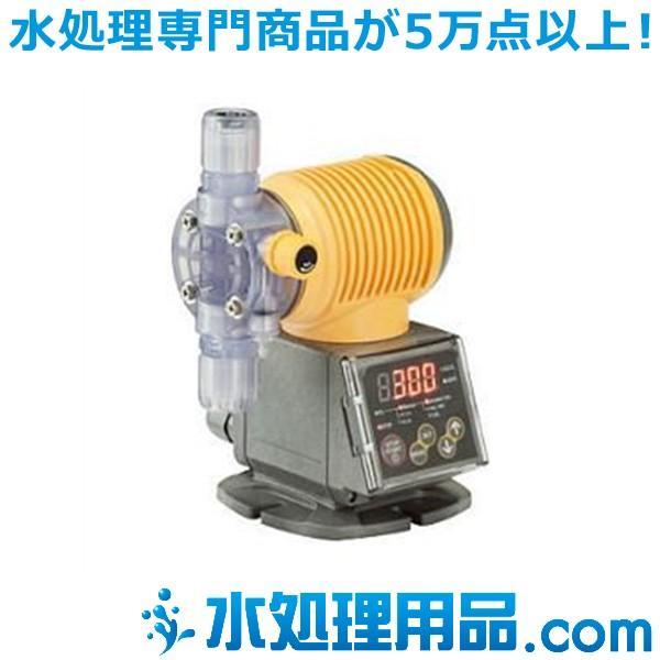 タクミナ ソレノイド駆動式ダイヤフラム定量ポンプ タイマータイプ PWT-100-FTCF-HWJ