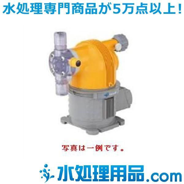 タクミナ モータ駆動式ダイヤフラム定量ポンプ 簡易リリーフ弁付き CSII-10R-FTCF-HW