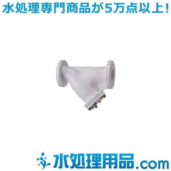 キッツ 鋳鉄バルブ Y型ストレーナ 10FCYN型 ナイロン11ライニング 8インチ(200A) 10FCYN-8